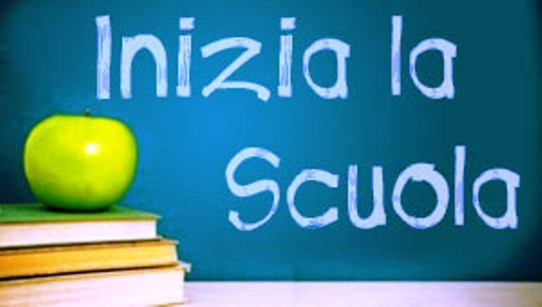 Informative e disposizioni avvio anno scolastico